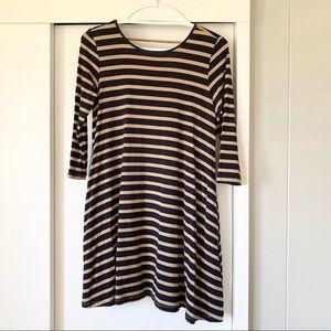 Ava Sky 3/4 Sleeve Dress